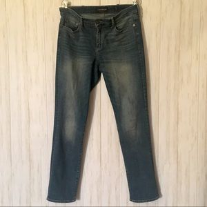 lucky brand sweet straight jeans • size 12
